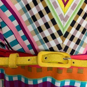London Times Dresses - London Times Multi-color patterned sheath dress